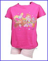 Костюм комплект пижама Minnie Mouse, WINX, Феечки из Англии