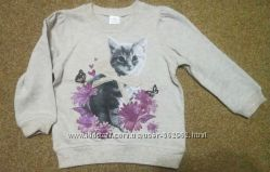 Свитшот, свитер хлопковый бренд F&F, Англия