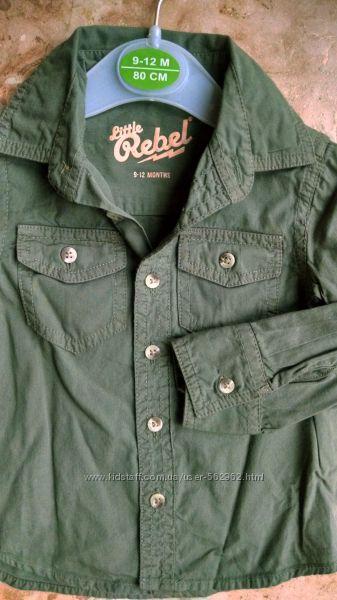 Рубашка бренд REBEL