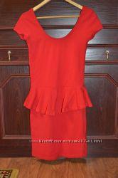 платье с баской в состоянии нового