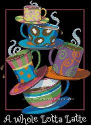 Набор для вышивания Dimensions A Whole Latta Latte 35218