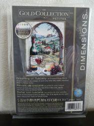 Набор для вышивания  крестом Dimensions 06972 Мечты о Тоскане