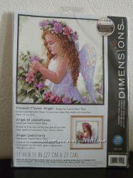 Набор для вышивания  крестом Dimensions 35229 Passion Flower Angel