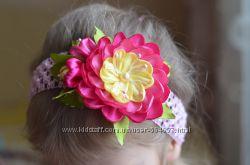 Нежные повязки на голову для малышек