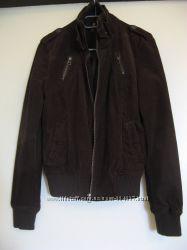Женская вельветовая коричневая куртка Terranova, М