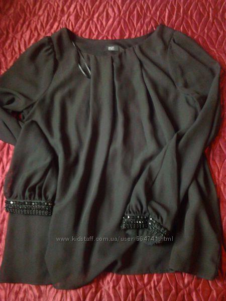 Черная блузка F&F