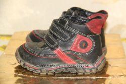 Ботинки детские кожаные демисезонные 23 размер