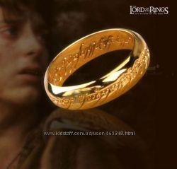 Кольцо властелин колец - мужское - золото