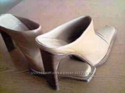 Дизайнерские Туфли LINEA BARBATO Italy оригинал  -нат. кожа