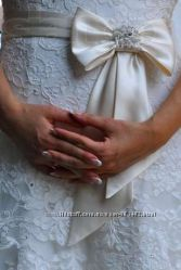 Свадебное  платье.