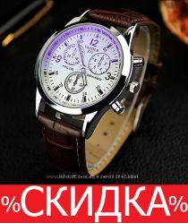 Мужские роскошные часы Yazole 88a792f4dabc5