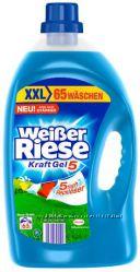 Weiber Riese гель, порошок для стирки, 70, 44 стирок, Германия