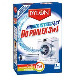 Dylon очиститель  для стиральной машины 3 в1 ,  2 ШТ. по 75 гр.