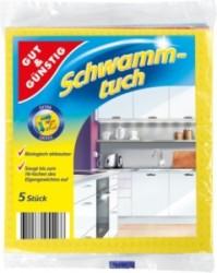 Ткани губки для уборки дома 18х20см. 5 шт, 38х38см 6 шт, 37х51см 10 шт.