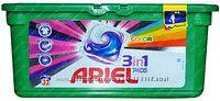 Ariel  power capsules 3x action для цветного и белого белья. 28 шт. Германи