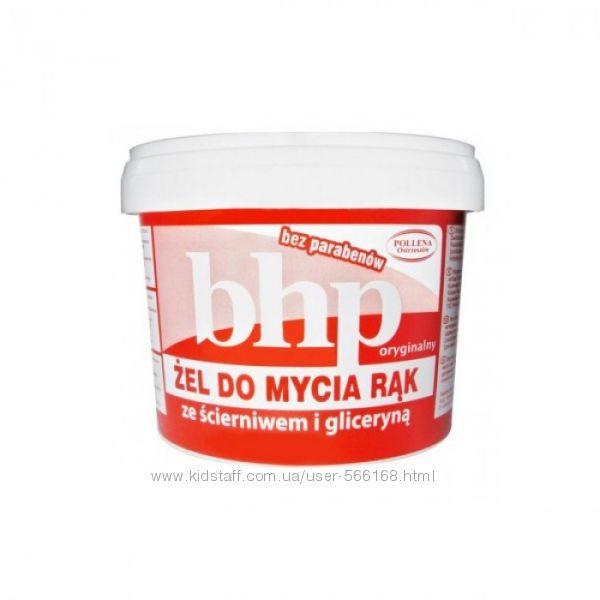 BHP абразивний гель з гліцерином для миття рук , 500 г