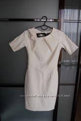 белое платье МОЕ р. М, новое