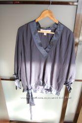 блузка Stella McCartney для Н&М, синяя, М