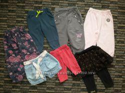 Лосины, джинсы, капри, шорты, штаны спортивные 80-92 Next, Disney, George