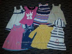 Платья, сарафаны фирменные красивенные 1-3 года