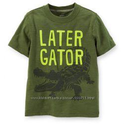 Классные футболки от Carters для ваших мальчиков, размер 3Т, 4Т и 5Т