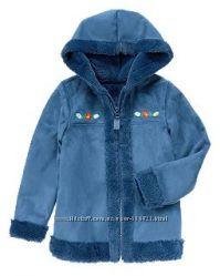 Бросовая цена Меховая парка, пиджак для девочки от Crazy8