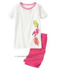 Carters, Gymboree, Crazy8 Пижамы для девочек
