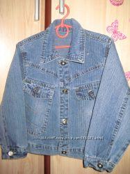 Джинсовый пиджак на 4 года