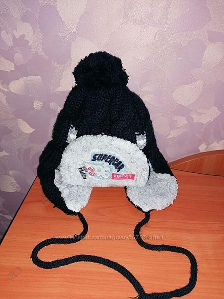 Тёплая зимняя шапочка 50-52