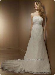 Свадебное платье р-р L, M