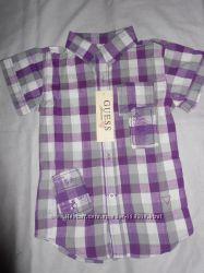 Качественная летняя рубашка Guess 4 года