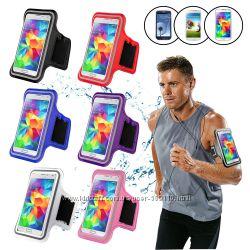 Универсальные спортивные чехлы для телефонов на руку для бега и фитнеса
