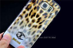 Чехлы Just Cavalli Leopard для Samsung Galaxy s6 Edge