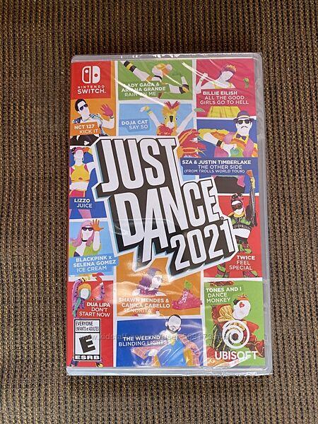 Just Dance 2021 для Nintendo Switch НОВАЯ ЗАПЕЧАТАННАЯ
