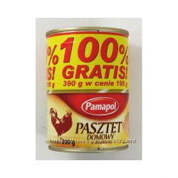 Польские паштеты в ассортименте