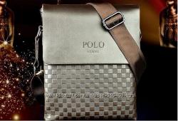 сумка мужская деловая Polo Videng, композитная кожа