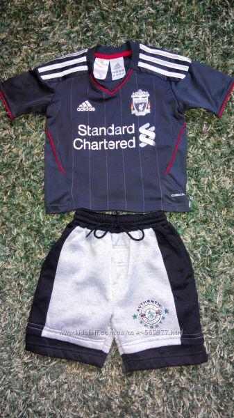 Футболка Adidas  шорты для мальчика на 2-3 года