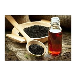 Кунжутное масло из семян черного кунжута
