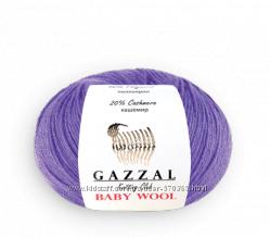 Gazzal Baby wool детская полушерсть меринос