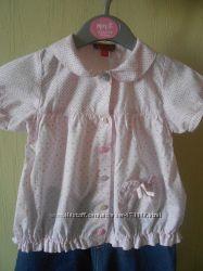 Рубашечка для девочки 12 мес. можно 1, 5 лет носить
