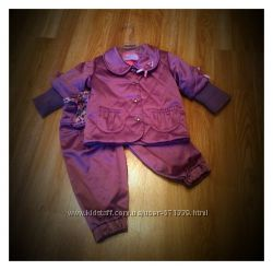 Шикарная курточка MONE, 9-12 мес  штанишки 12 мес.