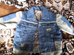 Курточка джинсовая на подкладке