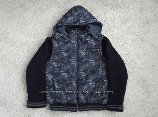 Курточка деми для мальчика на рост 164 см YIGGA
