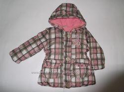 Курточка теплая для девочки на рост 80 см Topolino