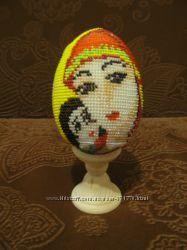 Продам обплетённые бисером яйца