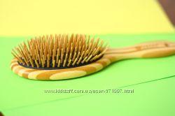 Эко-расческа из бамбука. Ароматерапия, Лечение, Восстановление роста волос