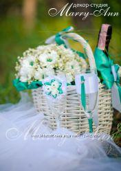 Свадебный декор и аксессуары Emerald & Shine Wedding