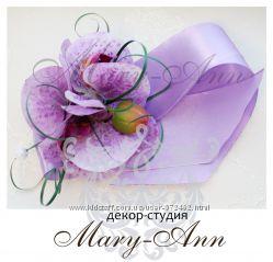 Свадебный декор и аксессуары Цвет орхидеи
