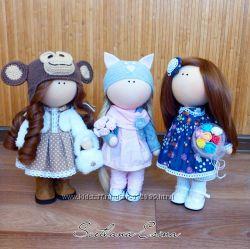 Интерьерные куклы, выполнены с душой и любовью