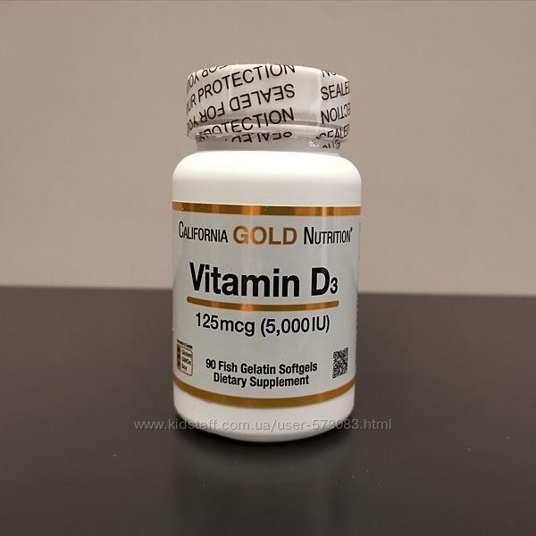 California Gold витамин д3 / D3 5000 IU